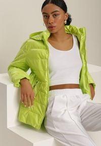 Renee - Jasnozielona Kurtka Throniche. Kolor: zielony