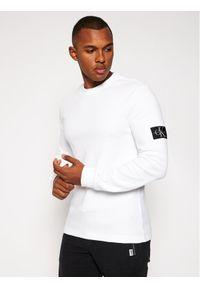 Biały sweter klasyczny Calvin Klein Jeans