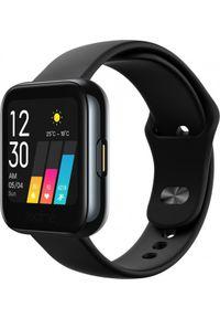 Czarny zegarek REALME smartwatch, sportowy