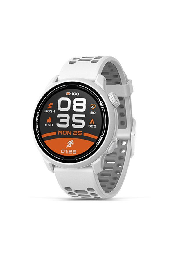 Zegarek COROS PACE 2 PREMIUM GPS biały. Kolor: biały. Materiał: nylon