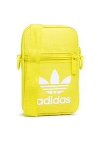 Adidas - Saszetka adidas - GV4801 Aciyel. Kolor: żółty. Materiał: materiał