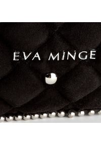 Czarny plecak Eva Minge casualowy