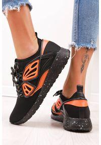 Pomarańczowe buty sportowe IVET na co dzień
