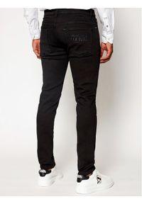 Versace Jeans Couture Jeansy A2GWA0D4 Czarny Slim Fit. Kolor: czarny
