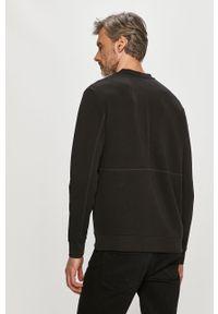 Czarna bluza nierozpinana Hugo na co dzień, casualowa