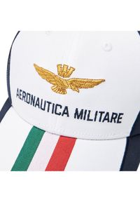 Biała czapka z daszkiem Aeronautica Militare