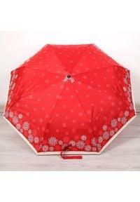 Parasol składany DOPPLER PA156 czerwony. Kolor: czerwony. Materiał: materiał