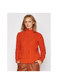Pomarańczowy sweter Lauren Ralph Lauren
