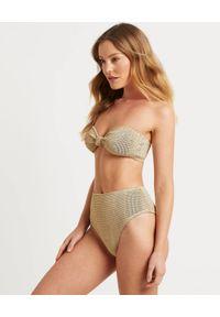 BOND-EYE AUSTRALIA - Dół od bikini Palmer. Kolor: biały. Materiał: tkanina, materiał