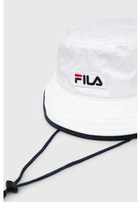 Biały kapelusz Fila
