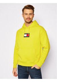 Tommy Jeans Bluza DM0DM08726 Żółty Regular Fit. Kolor: żółty