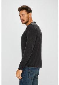 Only & Sons - Sweter. Okazja: na co dzień. Kolor: czarny. Materiał: dzianina. Wzór: gładki. Styl: casual #6