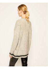Szary sweter klasyczny Calvin Klein