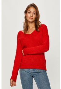 Czerwony sweter Morgan