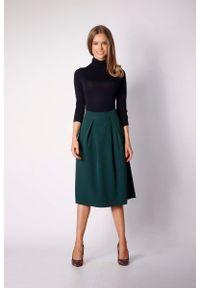 Zielona spódnica trapezowa Nommo