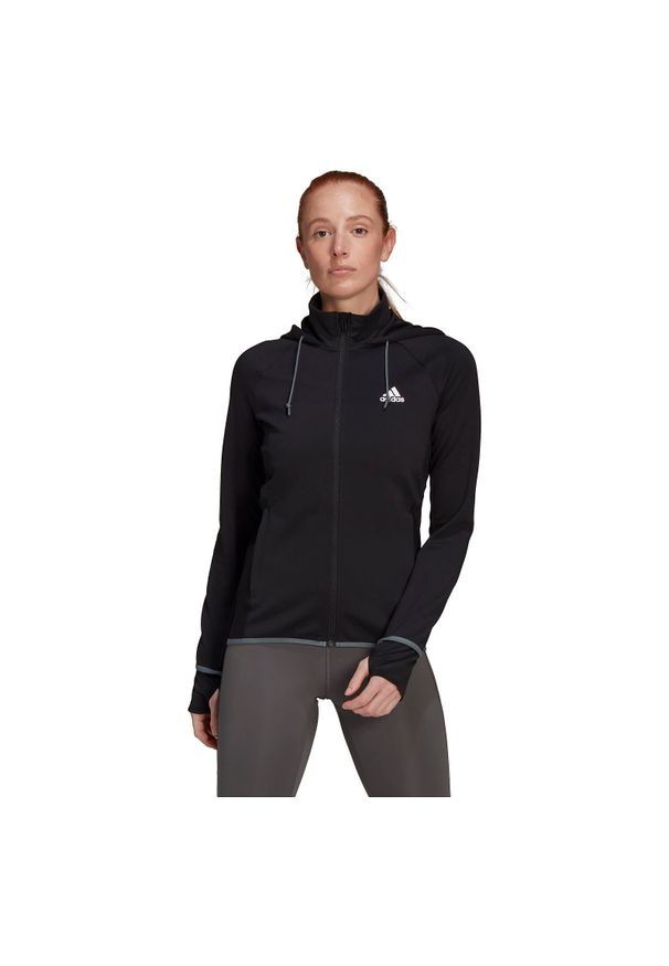 Adidas - Bluza treningowa damska adidas Aeroready FZ Hoodie GL3965. Typ kołnierza: kaptur. Materiał: elastan, poliester, materiał, skóra, bawełna. Sport: fitness