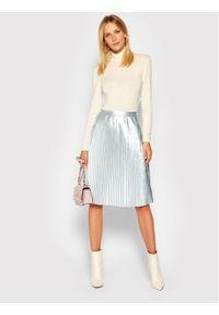 Srebrna spódnica Calvin Klein Jeans