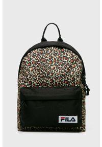 Czarny plecak Fila w paski