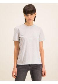 MSGM T-Shirt 2841MDM100 207296 94 Szary Regular Fit. Kolor: szary