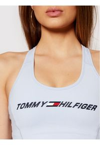 TOMMY HILFIGER - Tommy Hilfiger Biustonosz top Light Intensity Graphic S10S100973 Niebieski. Kolor: niebieski