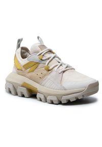 CATerpillar - Sneakersy CATERPILLAR - Raider Sport P110267 Natural/Desert Mojave. Okazja: na co dzień. Kolor: beżowy. Materiał: skóra, zamsz, materiał. Szerokość cholewki: normalna. Sezon: lato. Obcas: na płaskiej podeszwie. Styl: sportowy