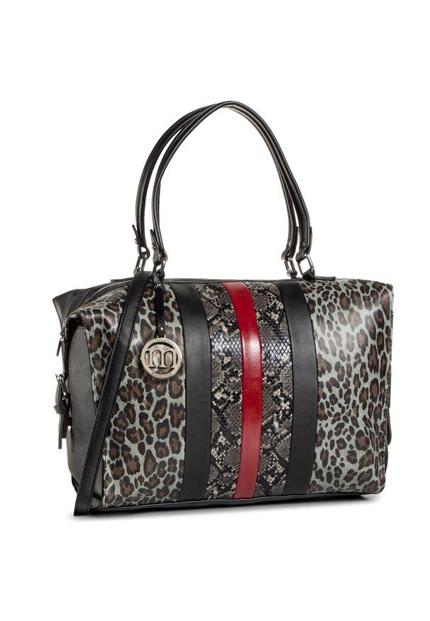 Czarna torebka klasyczna Monnari na ramię, klasyczna