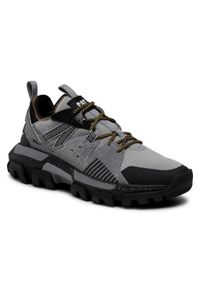 CATerpillar - Sneakersy CATERPILLAR - Raider Sport P724509 Cloudburst/Black/Gris. Okazja: na spacer, na co dzień. Kolor: szary. Materiał: skóra, zamsz, materiał. Szerokość cholewki: normalna. Styl: sportowy