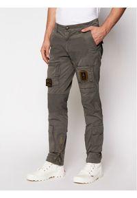 Szare spodnie Aeronautica Militare