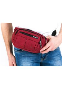 Czerwona torba Pako Jeans sportowa