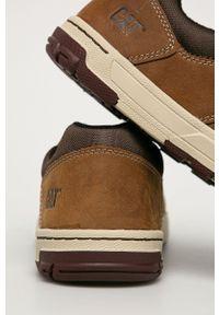 CATerpillar - Caterpillar - Półbuty skórzane Colfax. Nosek buta: okrągły. Zapięcie: sznurówki. Kolor: brązowy. Materiał: skóra