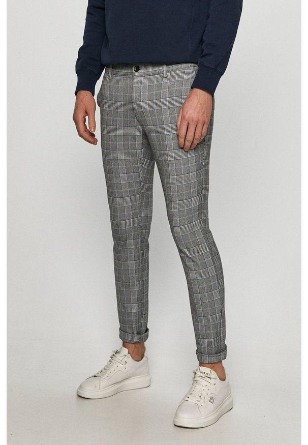 Only & Sons - Spodnie. Okazja: na co dzień. Kolor: szary. Materiał: tkanina. Styl: casual