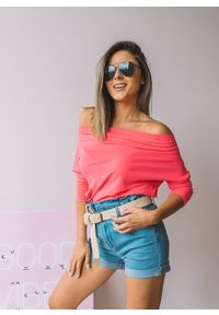 Różowa bluzka Fanaberia.com na lato #1