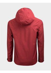 Czerwona kurtka outhorn melanż