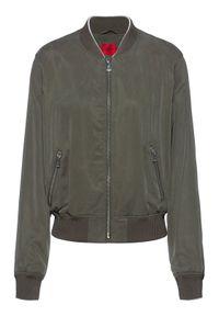 Hugo Kurtka bomber Agesa-1 50449569 Zielony Regular Fit. Kolor: zielony