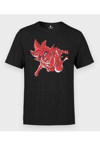 MegaKoszulki - Koszulka męska Goku w czerwieni. Kolor: czerwony. Materiał: bawełna