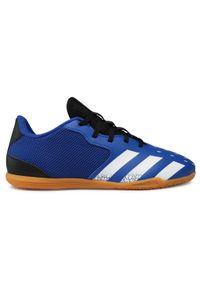 Niebieskie halówki Adidas