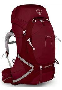 Czerwony plecak OSPREY w paski