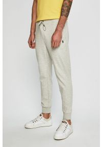 Polo Ralph Lauren - Spodnie. Okazja: na co dzień. Kolor: szary. Materiał: dzianina. Styl: casual