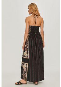 TwinSet - Twinset - Sukienka. Materiał: tkanina. Typ sukienki: rozkloszowane
