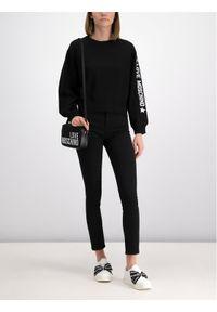 Czarny sweter klasyczny Love Moschino