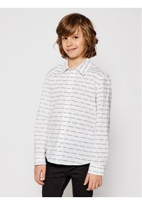Biała koszula Calvin Klein Jeans