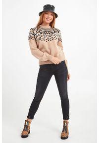 Sweter Trussardi Jeans do pracy