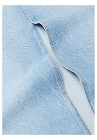 Niebieska spódnica jeansowa mango