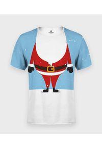 MegaKoszulki - Koszulka męska fullprint Mini Santa. Materiał: bawełna, dzianina, materiał, poliester. Styl: klasyczny