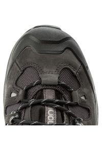 Czarne buty trekkingowe salomon Gore-Tex, z cholewką, trekkingowe