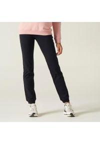 NYAMBA - Spodnie dresowe fitness. Kolor: czarny. Materiał: materiał, bawełna, elastan. Sport: fitness