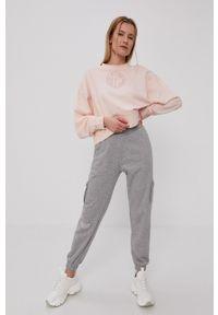 Nike Sportswear - Spodnie. Kolor: szary. Materiał: dzianina