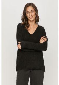 Czarny sweter Haily's długi, na co dzień