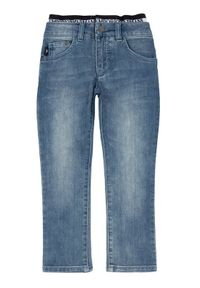 Emporio Armani Jeansy 3H4J17 4DFNZ 0942 Granatowy Slim Fit. Kolor: niebieski. Materiał: jeans
