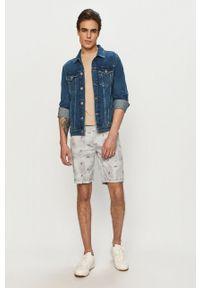 Niebieskie szorty Pepe Jeans na co dzień, casualowe